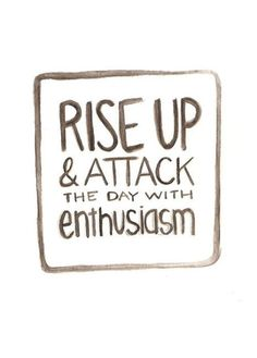 Rise Up And Attack The Day With Enthusiasm!  Come get your fitness on at Fitness Together in Novi, MI!  Get personal one-on-one-training, a nutrition guideline, and other services that will change your life for the better!  Call (248) 348-9230 or visit our website www.fitnesstogether.com/novi for more information!