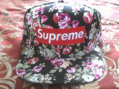Supreme floral snapback