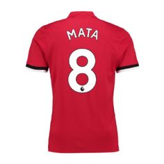 Man Utd Home Kit 2017/18 MATA