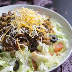 Recipe: Skinny Taco Salad