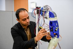 UAE professor developing personalised 3D-printed limbs for amputees