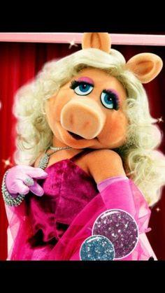 Oh darling,I am Mrs.Piggy.