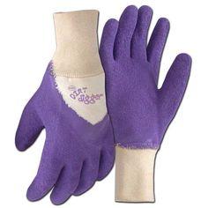 Boss Gloves 8403VM Medium Violet Dirt Digger Gardening Gloves - 2370-2913
