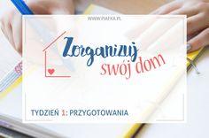 Project: Home Organization in 11 weeks // Zorganizuj Swój Dom: Tydzień 1 Brain Dump, Home Organization, Container, Projects, Blog, Log Projects, Home Organisation, Blogging, Canisters