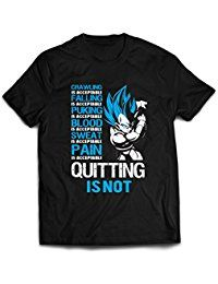 Vegeta Super Saiyan God Shirt - Quote Dragon Ball T-Shirt