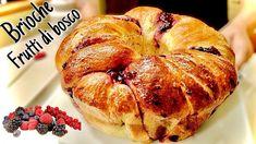 BRIOCHE SOFFICISSIMA AI FRUTTI DI BOSCO 🍓 Ricetta facile - YouTube Bread Machine Recipes, Bread Recipes, Cake Recipes, Brioche Bread, Comida Latina, How To Make Bread, Sweet Bread, Family Meals, Italian Recipes