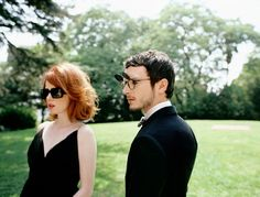 Shirley Manson & Elijah Wood for Oliver Peoples.