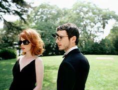 Shirley Manson & Elijah Wood for Oliver Peoples.