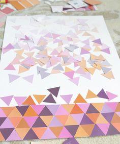 DIY Paint Chip Projects