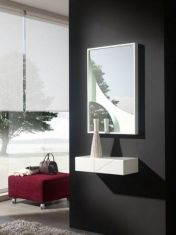 Miroir moderne avec LED : Modèle KIKKUMI