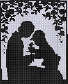 Mother and Son Cross Stitch Pattern | Craftsy