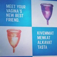 Finnische #Frauensache gab's bei der #Vivaness2016 am Rande der @biofach zu entdecken: @lunettecup! Eine nachhaltige Alternative zu Binden und Tampons! #Finnland #finnisch #frauensache #lunette