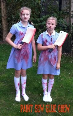this creepy twins halloween costume is based upon the spooky twins from the shining so