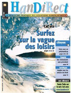 Couverture du numéro 74 : Cet été, surfez sur la vagues des loisirs.