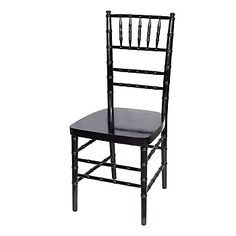 Reception Chair Blac
