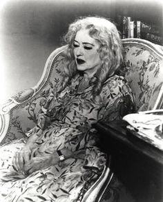 Baby Jane ..Bette Davis...one of my fave movies