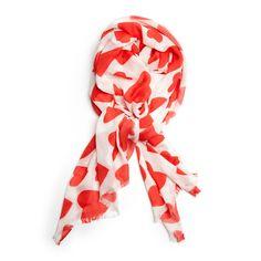 that's a wrap ban.do scarf - extreme supercute hearts