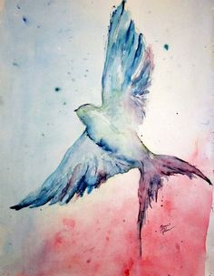 Want to add a water color look to my barn swallow and I think this will do the trick!