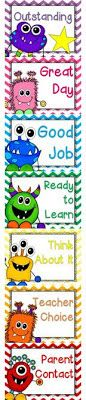 This is a creative behavior chart for all children. It can be used in the classroom with clips with names on the name. All children will start on a certain color and can earn to points to go higher or lose points and go lower to a different color. 3rd Grade Classroom, Primary Classroom, Preschool Classroom, Future Classroom, Classroom Themes, Classroom Organization, Kindergarten, Monster Theme Classroom, Mickey Mouse Classroom