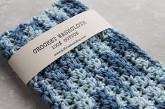100% Cotton Crochet Wash Cloth Crocheted Cotton by JLZCreations