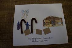 "Sample craft for 3-5s, Week 3, ""Shepherds in the Field"""