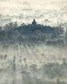 Borobudur Temple, Magelang, Central Java.  widyaindahn