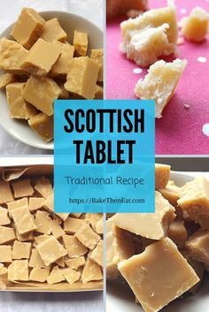 Traditional Homemade Scottish Tablet – Bake Then Eat - Tech World 2020 Hard Fudge Recipe, Fudge Recipes, Bread Recipes, Cake Recipes, Scottish Tablet Recipes, Food Truck Desserts, Scottish Desserts, English Food, English Recipes