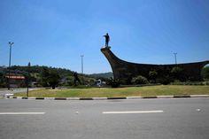 Monumento na entrada da Cidade