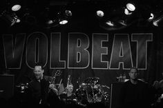 Michael, Jon and Anders #volbeat #Australia