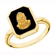 Square Onyx Crest Ring this is the ring that I want for when I graduate! ahhh so close to being alum!