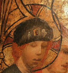 Kölner Elisabethaltar von 1380/90, heute im Hackmuseum in Ludwigshafen