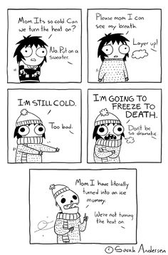 Today on Sarah's Scribbles - Comics by Sarah Andersen Funny Cute, The Funny, Hilarious, Cute Comics, Funny Comics, Saras Scribbles, Sarah Andersen Comics, Funny Cartoons, Funny Memes