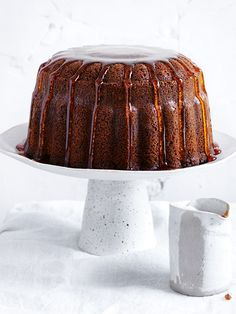 Marble Chai Bundt Cake With Maple Syrup | Donna Hay