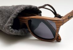 Canby Zebrawood Sunglasses by Shwood | Essentials (men's accessories), visit http://www.pinterest.com/davidos193/