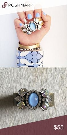 Loren Hope Mirabelle Cuff in Bloom Beautiful cuff that can be adjusted to the wrist. Rare cuff. Loren Hope Jewelry Bracelets