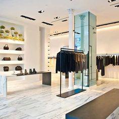 Alexander Wang NY store interior