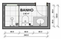 Best Information About Bathroom Size And Space Arrangement - Engineering Discoveries Small Bathroom Layout, Bathroom Design Layout, Bathroom Interior Design, Modern Bathroom, Bathroom Ideas, Bath Ideas, Minimal Bathroom, Layout Design, Small Bathroom Floor Plans