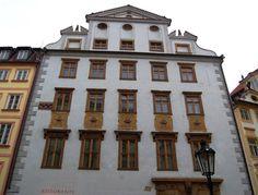 Renesanční dům U pěti korun v Praze.