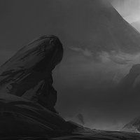 Rocky Coast by Stephen Todd on ArtStation.