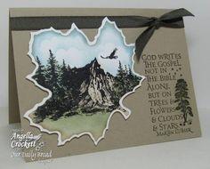 Mountain Gospel by angelladcrockett - Cards and Paper Crafts at Splitcoaststampers