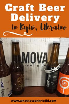 Craft Beer Delivery in Kyiv is a great service during the Covid 19 quarantine. Lots of the craft beer breweries in Ukraine offer beer by post to your house or local Nova Poshta. It's a great service for expats in Kyiv or locals. Local Brewery, Beer Brewery, Craft Beer Uk, Beer Shop, Wheat Beer, Pubs And Restaurants, Beer Company, Beer Taps