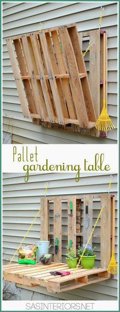 DIY Outdoor Pallet Project Ideas