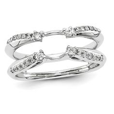 White Gold Diamond Ring Wrap, Size ctw, Clarity), Jewelry Rings for Women Wedding Sets, Wedding Bands, Solitaire Enhancer, Jewelry Rings, Fine Jewelry, Diamond Clean, Diamond Stores, Anniversary Bands, White Gold Diamonds