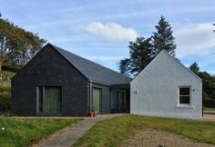 Archive - Rural Design Architects - Isle of Skye and the Highlands and Islands of Scotland Country Farmhouse Exterior, Cottage Exterior, Modern Farmhouse, Architecture Ireland, Farmhouse Architecture, Bungalow Haus Design, House Design, Garden Design, Bungalow Extensions