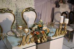 Wedding Reception Decor by Em'ganwini Kraal Wedding Reception Decorations, Table Decorations, Dream Wedding, African, Weddings, Pretty, Furniture, Ideas, Design