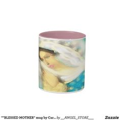 """""""""""BLESSED MOTHER"""" mug by Carole Tomlinson©2016"""