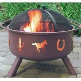 Found it at Wayfair - Big Sky Western Fire Pit