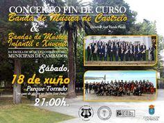 CORES DE CAMBADOS: CONCERTO DE FIN DE CURSO DA ESCOLA DE MÚSICA E O C...
