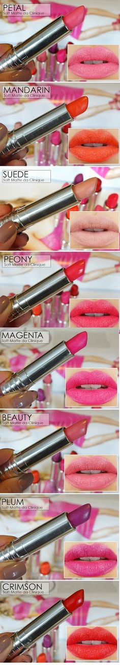 8 Top Soft Matte Lipsticks / Best LoLus Makeup Fashion