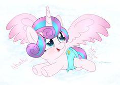 Mlp My Little Pony, My Little Pony Friendship, Flurry Heart, Sweetie Belle, Cute Ponies, My Little Pony Merchandise, Mlp Pony, Girl Sketch, Fluttershy